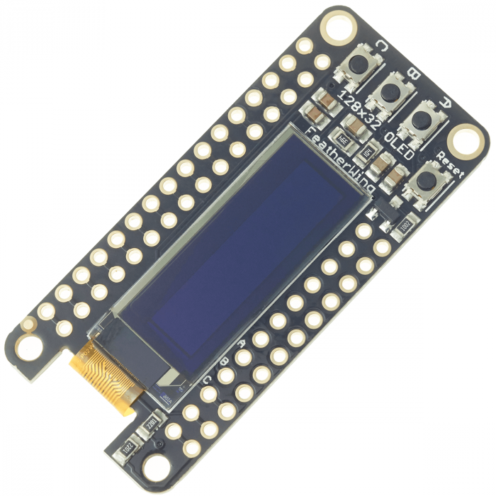 Tandy - Adafruit FeatherWing OLED - 128x32 OLED Add-on For