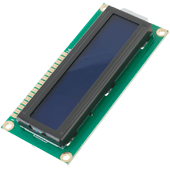 16x2 LCD Display (Blue)