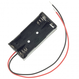 2 AAA Battery Holder (Wired)