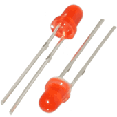 3mm Red LED (2pk)