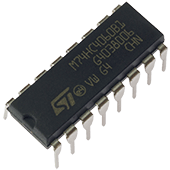 74HC4060 14-Stage Binary Ripple Counter