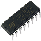 74HC590 8-bit Binary Counter
