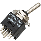 DPDT Submini Toggle Switch