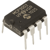 MCP3002-I/P Dual Channel 10-Bit A/D Converter with SPI