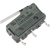 Miniature Microswitch with Short Lever