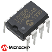 PIC12F508-I/P Microcontroller