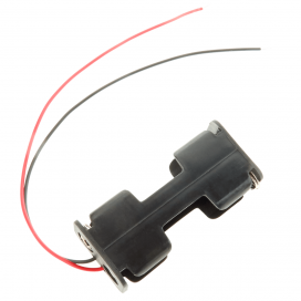 2 AA Battery Holder (Wired)