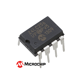 256K I2C Serial EEPROM 24LC256-I/P