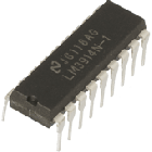 LM3914 dot / bar display driver IC