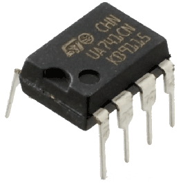 tandy 741 operational amplifier. Black Bedroom Furniture Sets. Home Design Ideas