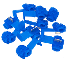 Tap-In Snap Connectors - Blue (10pk)