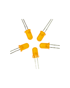 5mm Orange LED (5pk)