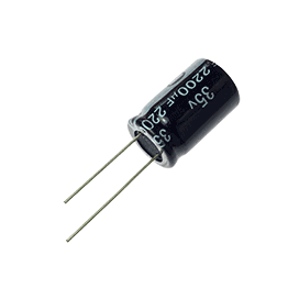 2200µF 35V 20% Radial Electrolytic Capacitor