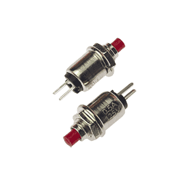 Micro SPST Push Button Switch (2pk)