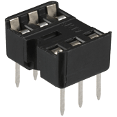 6pin Low Profile IC socket
