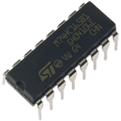74HC165 8-bit Parallel-In Serial-Out Shift Register