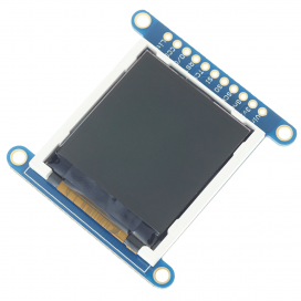 "Adafruit 1.44"" Colour TFT LCD Display with MicroSD Card breakout - ST7735R"