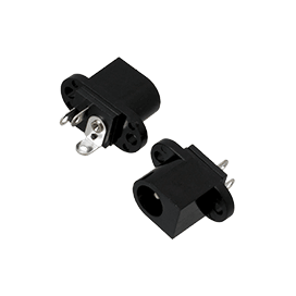 Chassis mounting DC power socket (2pk)