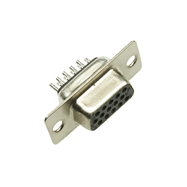 15 Position Female HD D-Sub Connector
