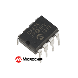 PIC12F675-I/P Microcontroller