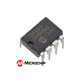 PIC12F683-I/P Microcontroller