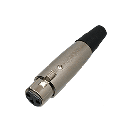 XLR In-Line Socket