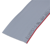26-Way Grey Ribbon Cable (50cm)