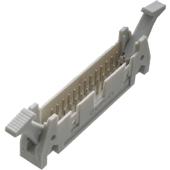 26 Way Straight IDC Latched Plug