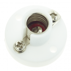 E10 Lamp Base with Screw Terminals