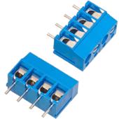 4 Position Modular PCB Screw Terminals (2pk)