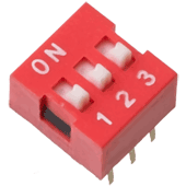 3 Way DIP Switch