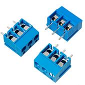 3 Position Modular PCB Screw Terminals (3pk)