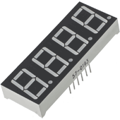 14.2mm Four Digit 7-Segment Display