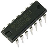 74HC00 Quad 2-Input NAND Gate