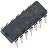 74HC164 Serial-In Parallel-Out Shift Register