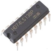 74LS138 3 to 8-Line Decoder/Demultiplexer