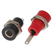 4mm panel mounting test sockets (2pk)