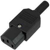 Re-wireable IEC Mains Socket