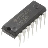 LM324 Quad Op Amp