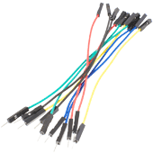 Male to Female Jumper Wires (10pk)