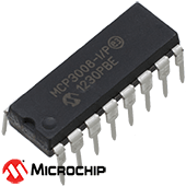 Microchip MCP3008-I/P 8 Channel 10-Bit A/D Converter with SPI