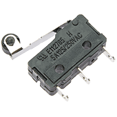 Miniature Microswitch with Roller Lever