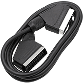 2m Scart Cable