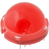 Super-Jumbo Red LED