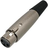 XLR In-Line Socket