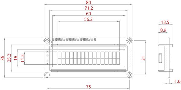 LCD Illustration