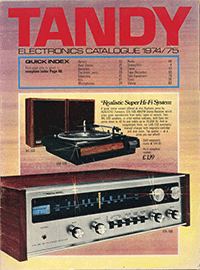 1974 catalogue cover