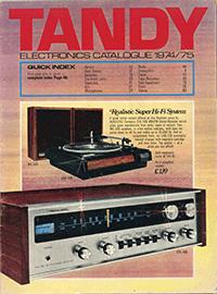 1974 catalogue cover