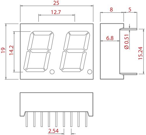 7 Segment Illustration