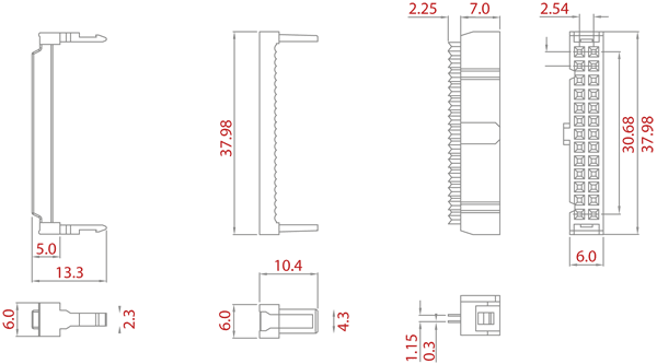 IDC Connector Illustration